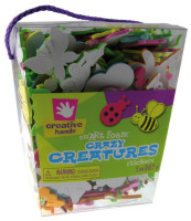 Creative Hands - Foam Stickers - Crazy Creatures