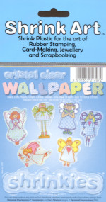 Shrink Art Wallpaper Pack - 6 Printed Sheets - Crystal Clear