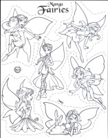Shrinkles Collector Set -  Assorted Accessories - Manga Fairies