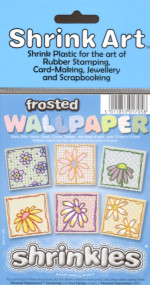 Shrink Art Wallpaper Pack - 6 Printed Sheets - Frosted