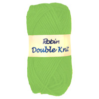 Robin Double Knitting Yarn - 25g - Cordial (Lime Green)