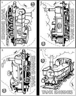 Shrinkles Party Pack - Tank Engines