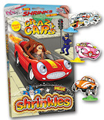 Shrinkles Bumper Box Wiggly-Eyed Crazy Cars