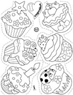 Shrinkles Collector Set - Assorted Accessories I Love Cupcakes